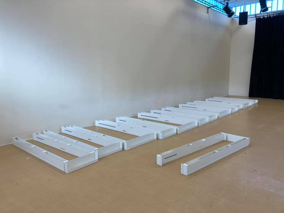 Assembled Pod Storage Boxes